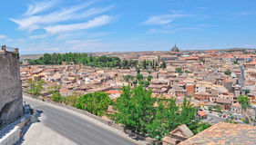 Toledo panorama. On a clear day Stock Photo