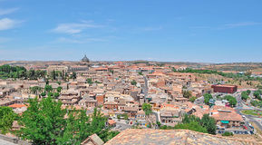 Panorama of Toledo. Toledo panorama on a clear day Stock Image