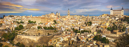 Toledo . Panorama Royalty Free Stock Photo