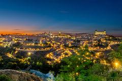 Toledo panoramic Royalty Free Stock Images