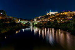 Toledo panoramic Royalty Free Stock Photo