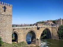 Toledo panoramiczny widok Zdjęcie Royalty Free