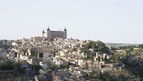 Toledo panoric widok na starym mieście zbiory