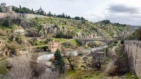 Toledo - Piękny Średniowieczny miasto Zdjęcia Royalty Free