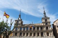 Toledo-Rathaus, Spanien lizenzfreie stockfotos