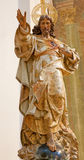 Toledo - Resurrected Christ statue from church Iglesia de san Idefonso Royalty Free Stock Image