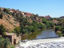 Toledo, River Targus Royalty Free Stock Photos
