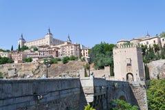 Toledo Roman bridge Royalty Free Stock Photos