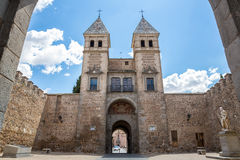 Toledos gate Spain Royalty Free Stock Photography