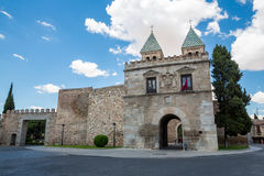 Toledo's gate Spain Stock Images