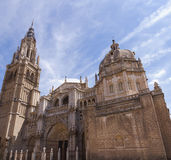Toledo Saint Mary Cathedral Royalty Free Stock Images