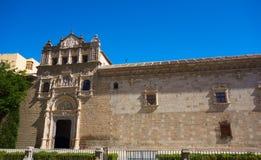 Toledo Santa Cruz Museum in Spain. Toledo Santa Cruz Museum in Castile La Mancha of Spain royalty free stock image
