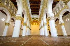 Toledo at Santa Maria La Blanca Church Stock Photos