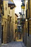 Toledo, Sapin - rues étroites typiques Image stock