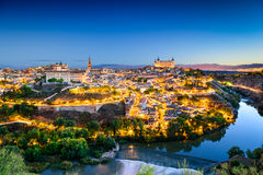Toledo Skyline Royalty Free Stock Photos