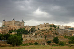 Toledo - Spain. View of this historical and medieval city of Spain: Toledo Royalty Free Stock Photo