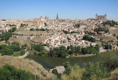 Toledo in spain Stock Photography