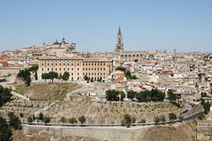 Toledo in Spain Royalty Free Stock Photos