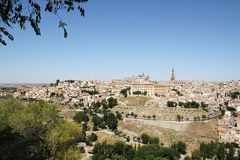 Toledo in Spain Royalty Free Stock Photography