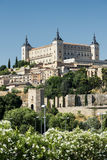 Toledo Spain: Alcazar Royalty-vrije Stock Fotografie