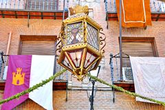 Toledo Spain. Architecture of building in Toledo Spain Royalty Free Stock Photography