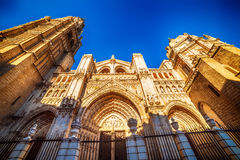 Toledo, Spain: the Cathedral Royalty Free Stock Photo