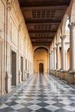 Toledo, Spain - December 16, 2018: Interior courtyard of Alcazar of Toledo, Castilla la Mancha, Spain.  stock photos
