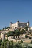 Toledo Spain: der Alcazar Lizenzfreie Stockbilder