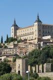 Toledo Spain: der Alcazar Lizenzfreie Stockfotografie
