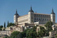 Toledo Spain: der Alcazar Stockbild