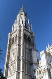 Toledo Spain: gothic cathedral Stock Image