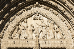 Toledo Spain: gothic cathedral Royalty Free Stock Photo