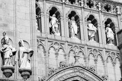 Toledo Spain: gothic cathedral Royalty Free Stock Photography