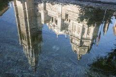 Toledo & x28; Spain& x29;: gotisk domkyrka Royaltyfri Foto