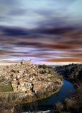Toledo Spain, la città di fotografia stock