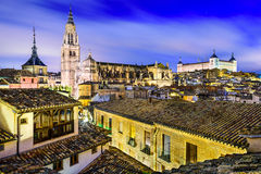 Toledo, Spain Old City Stock Photo