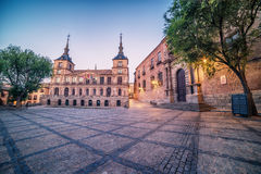 Toledo, Spain: the old town and the Cathedral Squere Stock Photo