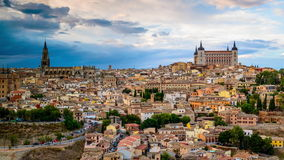 Toledo Spain stock video footage