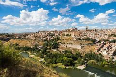 Toledo, Spain old town cityscape at the Alcazar. Royalty Free Stock Photo