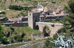 Toledo,Spain. Old town of Toledo, former capital city of Spain Royalty Free Stock Photos