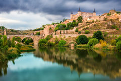 Toledo Spain Old Town Royalty Free Stock Photo