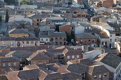 Toledo Spain: panoramic view Royalty Free Stock Image