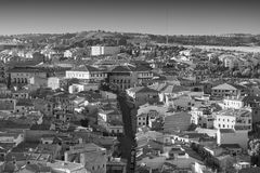 Toledo Spain: panoramic view Royalty Free Stock Images
