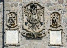 Toledo Spain, Puente de San Martin Royalty Free Stock Images