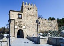 Toledo Spain, Puente de San Martin Royalty Free Stock Photo