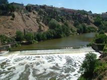 Toledo Spain River Foto de Stock