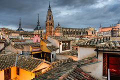 Toledo Spain Rooftop View Stock Photos