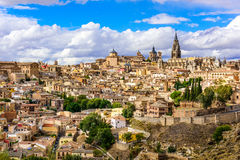 Toledo, Spain Skyline Royalty Free Stock Photos