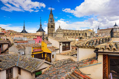 Toledo, Spain Skyline Royalty Free Stock Photo