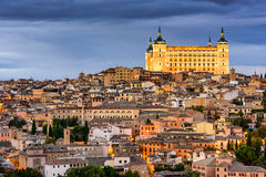 Toledo, Spain Skyline Royalty Free Stock Image